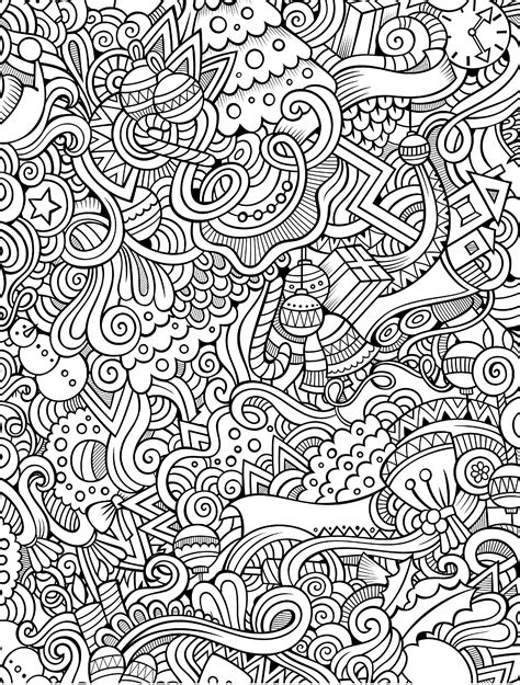 10 free printable holiday adult coloring pages adult