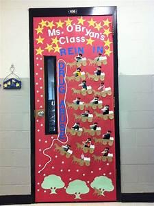 red, ribbon, week, door, decorating, inspiration