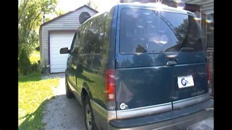 fix stuck rear hatch   chevy astro van youtube