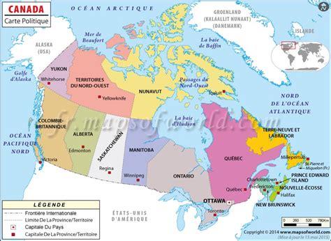 Carte Du Monde Avec Capitales Pdf by Carte Du Canada Voyages Carte Du Canada