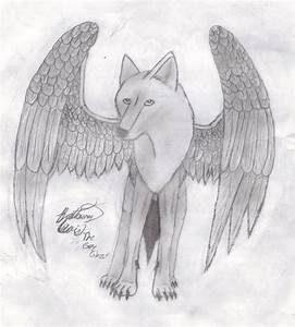 Easy Drawings Of Wolves With Wings | www.imgkid.com - The ...