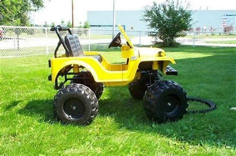 power wheels jeep 90s custom power wheels things for carson pinterest