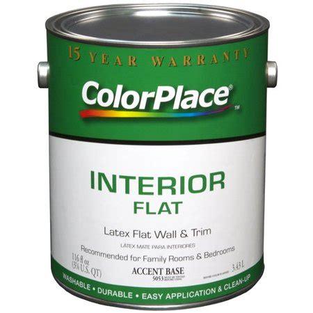 color place interior flat accent paint walmart com
