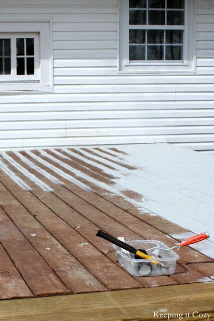 Trex Deck Brightener Home Depot by Best 25 Deck Restore Ideas On