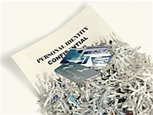 document shredding dpw With shredding sensitive documents
