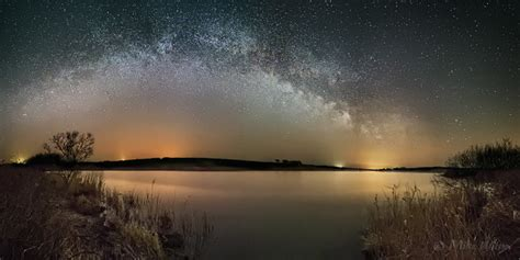 Mike Wilson Photography Tamar Lake Milky Way Panoramic