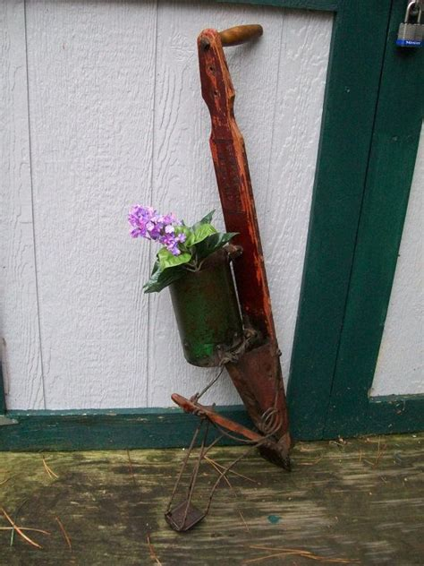 Antique Corn Seed Planter Early American