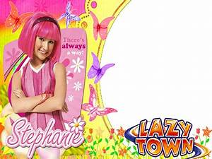 Stephanie lazy town wallpaper