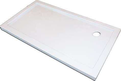 receveur plat bridge blanc acryl 140x80 lt aqua