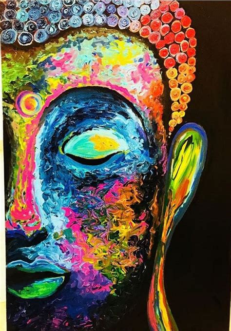 buy painting buddha artwork    indian artist