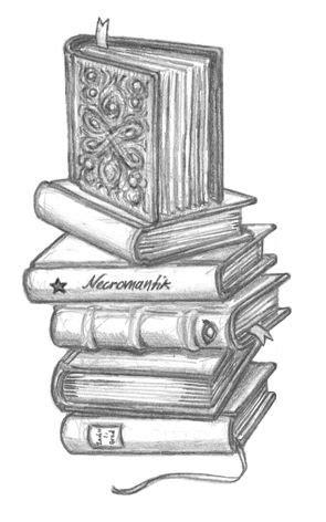 http://www.christophclasen.de/galerien/albums/schulbuch/Buecherstapel.jpg | Zeichnung ideen