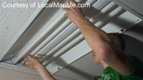 how to fix a fluorescent replace recessed fluorescent light fixture with led