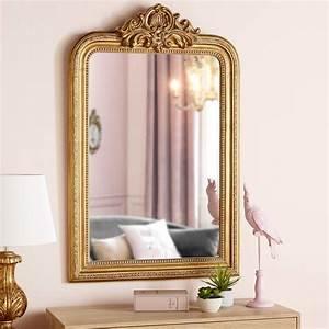 Maison Du Monde Miroir : miroir moulures dor es 77x120cm maisons du monde chambre pinterest maison du monde ~ Teatrodelosmanantiales.com Idées de Décoration