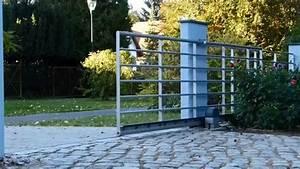 Rolltor Selber Bauen : freitragendes elektrisches edelstahl schiebetor sliding gate by edelstahl haese youtube ~ Yasmunasinghe.com Haus und Dekorationen
