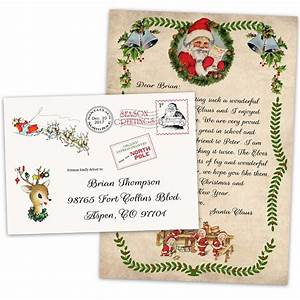 personalized christmas letter from santa claus official With personalized christmas letter from santa