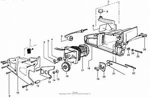 Poulan 1630 Electric Saw Parts Diagram For Electric Saw