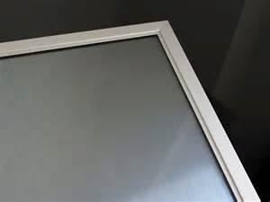 Chrome Framed Mirror by Aluminum Frame Glass Cabinet Doors 171 Aluminum Glass