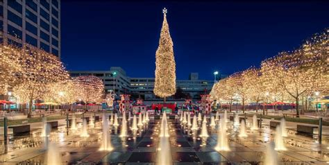 christmas lights in the city of logan crown center visit kc