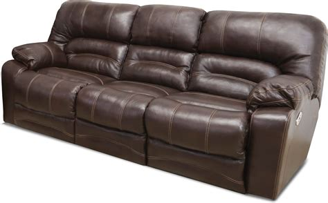 Brown Leather Reclining Sofa And Loveseat by Chocolate Brown Leather Power Reclining Sofa Loveseat