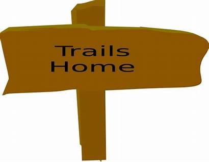 Trail Clipart Sign Signs Canyon Box Clip