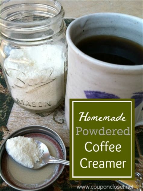 It takes a few extra steps, but it's totally worth it. Homemade Powdered Coffee Creamer - Save money by making your own