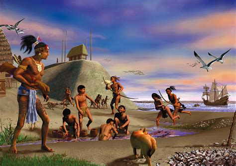 native indians florida americans american indian tequesta north history peoples america miami village tribes indigenous paleo culture southeastern woodlands spanish