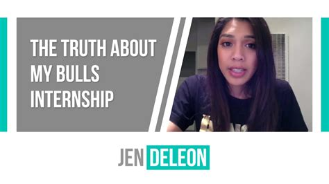 The Truth About My Bulls Internship Youtube