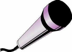 Microphone With Music Notes Clipart (29+)