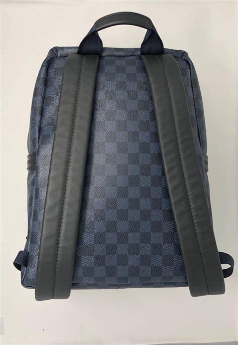 LV Apollo Backpack in Cobalt Black at 1stdibs