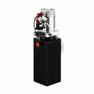 8 Quart Single Acting Hydraulic Pump Dump Trailer Unit