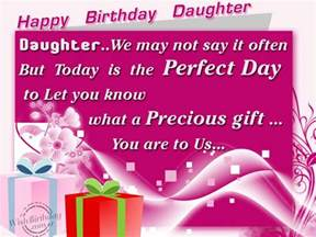 Happy Birthday Special Daughter