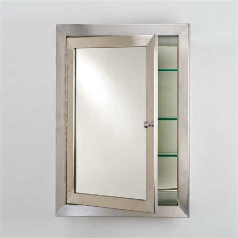 afina medicine cabinet deals afina metro 25 quot mirrored medicine cabinet satin
