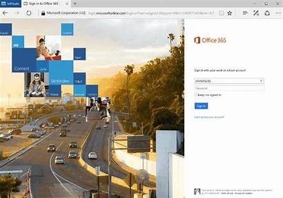 365 Office Login Branding Screen Screens