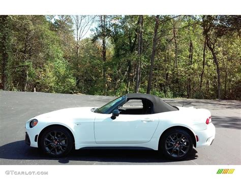 fiat spider white 2017 bianco gelato white fiat 124 spider abarth roadster