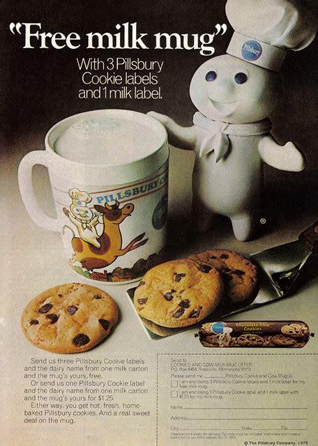 vintage ad   milk mug   pillsbury doughboy flickr