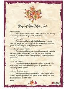 Thanksgiving Catholic Prayer Before Meal