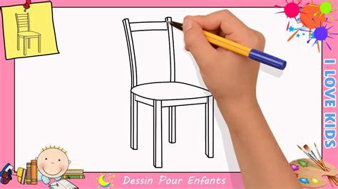 comment dessiner une chaise comment dessiner une chaise facilement etape par etape