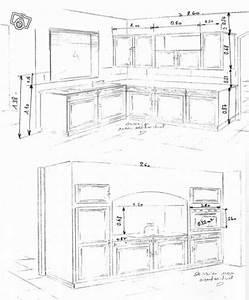 meuble de cuisine hauteur idees de decoration interieure With hauteur des meubles haut cuisine