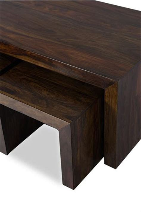 wood cube coffee table set cube coffee table indian solid sheesham wood furniture