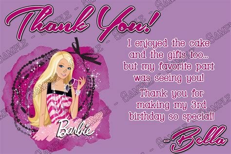 concept designs barbie birthday party