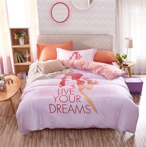 disney cartoon princess  printed bedding bedding set