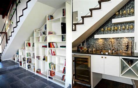 idee de rangement sous escalier rangement sous escalier et id 233 es d am 233 nagement alternatif