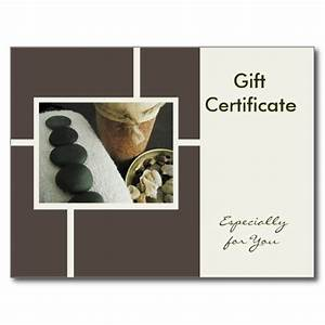 best photos of massage gift certificate template With massage therapy gift certificate template
