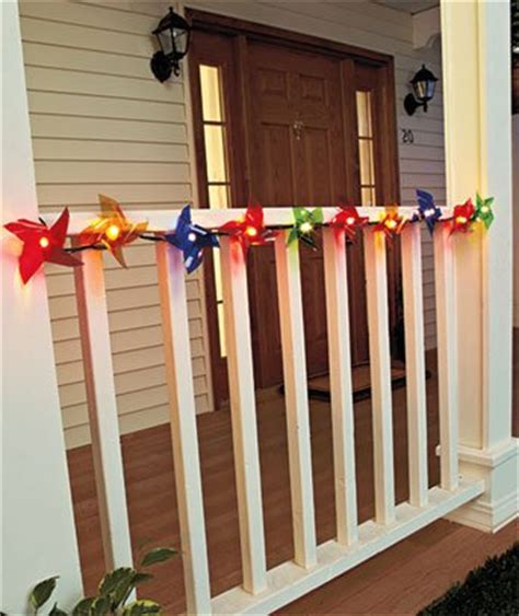 novelty pinwheels string lights great for cer awning rv