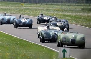 Classic Jaguars Race Round Goodwood Motoring Circuit As
