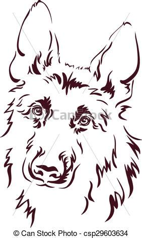 large size of coloring images drawing images coloring german shepherd vector illustration vectors search clip