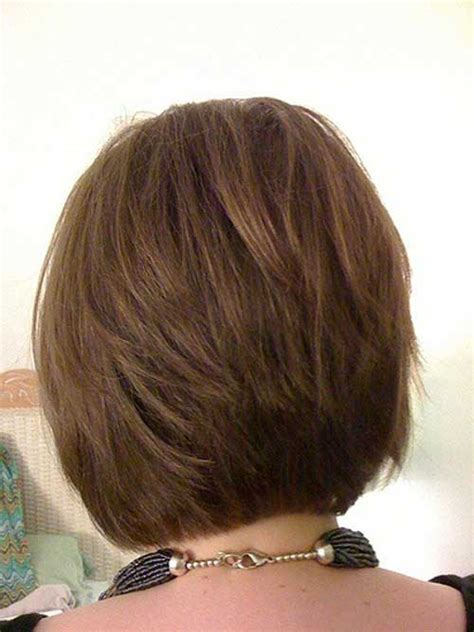 short layered bob hairstyles front   view