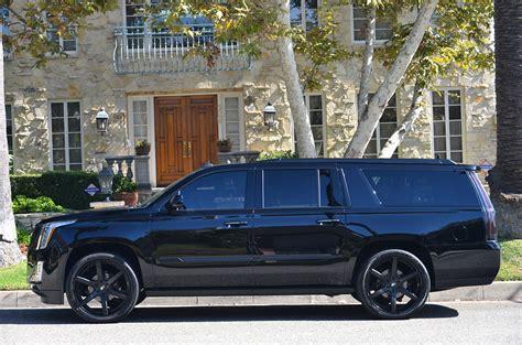 Cadillac Escalade Blacked Out 2015