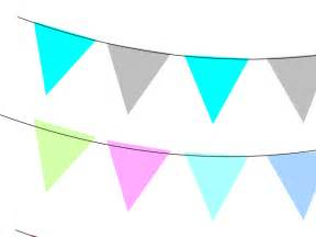 Triangle Flag Banner Clip Art Free