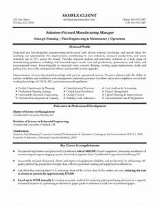 Sample Risk Management Cover Letter Manufacturing Manager Resume Example Reference Page For